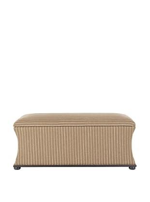 Safavieh Aroura Storage Bench, Brown/Cream Tweed