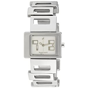 Fastrack Upgrade-Party Analog White Dial Women's Watch - NE2404SM01