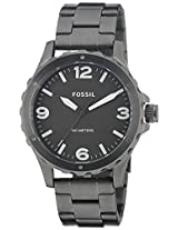 Fossil End of Season Analog Black Dial Men's Watch - JR1457