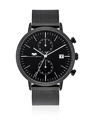 Rhodenwald & Söhne Quarzuhr Hyperstar Chronograph schwarz 42  mm