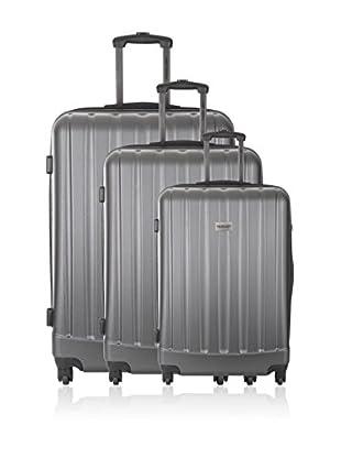 Travel One Set de 3 trolleys rígidos Wigan