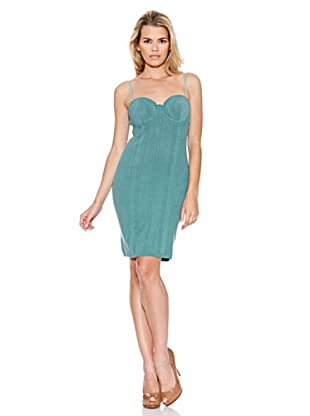 Guess Vestido Bianca (Verde Turquesa)