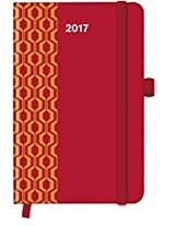 2017 Red Diary - teNeues Cool Diary - Weekly 9 x 14 cm