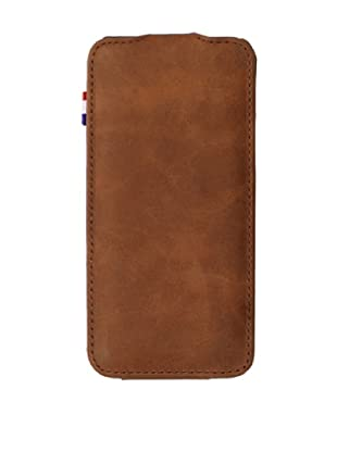 Decoded Bags Men's Flip Case for iPhone 5, Brown, One Size