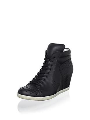 Koolaburra Women's Kenny Fashion Sneaker (Black)
