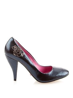 Fornarina PIFGI7158WE13 - Zapatos para mujer (Azul)