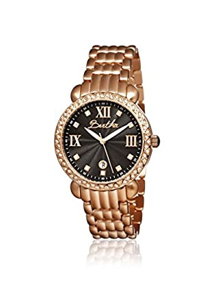 Bertha Women's BR1106 Ruth Rose Gold/Black Stainless Steel Watch
