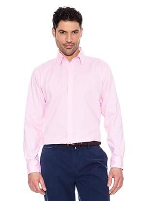 Pedro del Hierro Unifarbenes Hemd (Rosa)