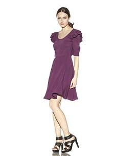 Rebecca Minkoff Women's Sophie Dress (Purple)