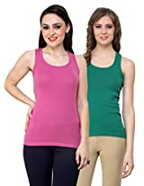 Renka Comfortable Camisole/Tank Tops for Women(Pack of 2)