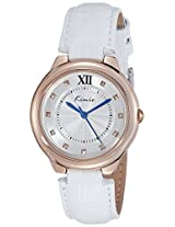 Kimio Analog Silver Dial Women's Watch - KW526M-RG0101