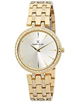 Daniel Klein Analog Gold Dial Men's Watch - DK10863-2