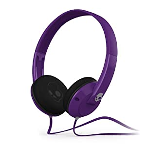 Skullcandy S5URDZ-212 Uprock Athletic On-Ear Headphone (Purple/Grey)