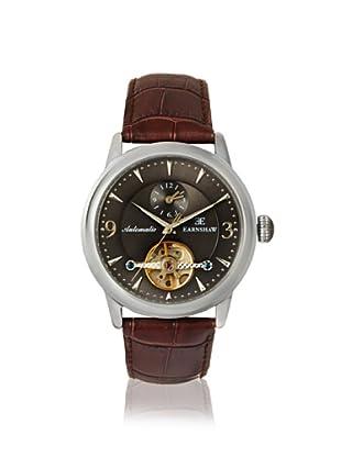 Earnshaw Men's 8003-02 Regency Brown/Grey Stainless Steel Watch