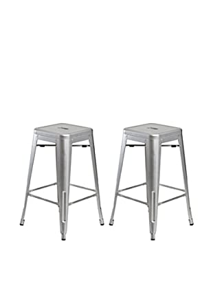 Aeon Furniture Set of 2 Galaxy Counter Stools