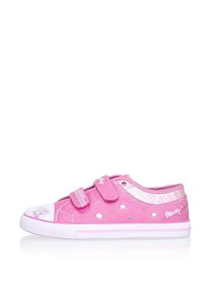 Pablosky Kid's Glitter Sneaker (Fuchsia)