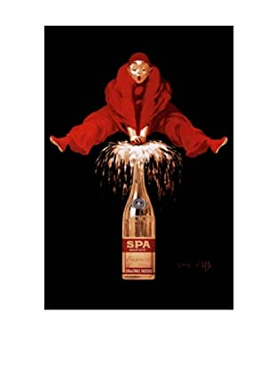 Belgium Liquor Red Man Giclée Canvas Print
