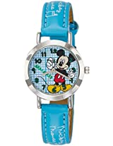 Disney Analog Multi-Color Dial Children's Watch - 3K2176U-MK (LIGHT BLUE)