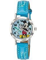 Disney Analog Multi-Color Dial Children's Watch - 3K2176U-MK (LIGHT BLUE)