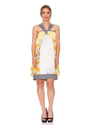 Strena Vestido Estampado (Amarillo)