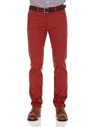 Cortefiel Pantalón Americano (Rojo)