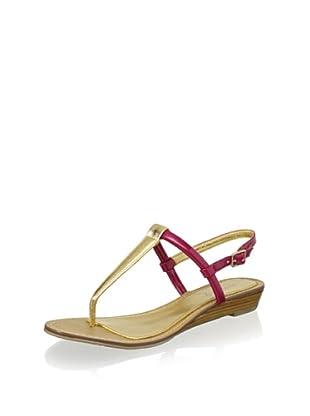 Boutique 9 Women's Pandi Sandal (Pink/Gold)