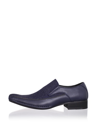 Robert Wayne Men's Air Gee Loafer (Blue)