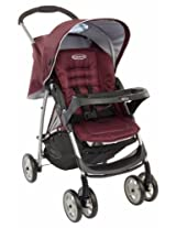 Mirage Stroller W/Parent Tray Boot Plum