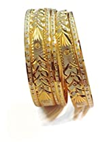 DIVINIQUE JEWELRY Gold Plated Bangle Set For Women -Gold