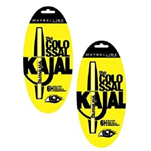 Maybelline Colossal Kajal Double Delight Pack