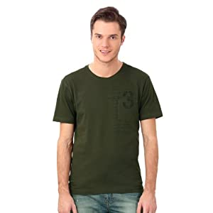 Louis Philippe Solid Polo Neck Tee