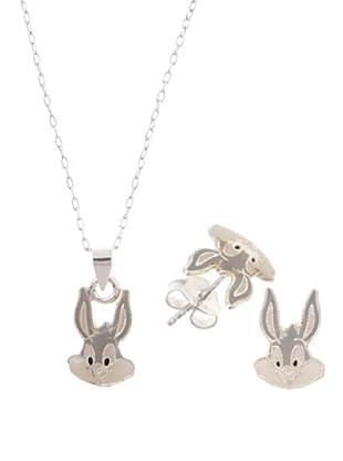 Warner Conjunto Gargantilla y Pendientes Bug Bunny