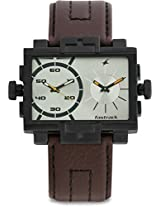Fastrack Midnight Party 3096NL02 Grey Analogue Watch - For Men