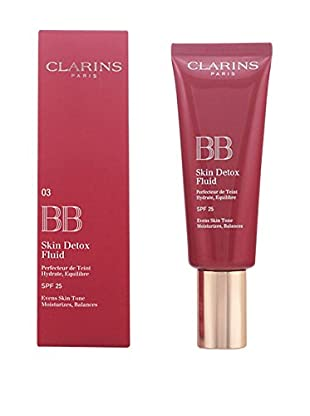 Clarins BB Cream Skin Detox Fluid N°03 Dark 25 SPF 45.0 ml