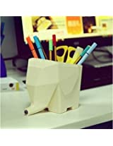 Lovely Elephant Shape Multi-purpose Cutlery Drainer Brush Flower Pot