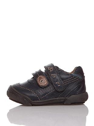 Billowy Zapatos Velcros (Azul)