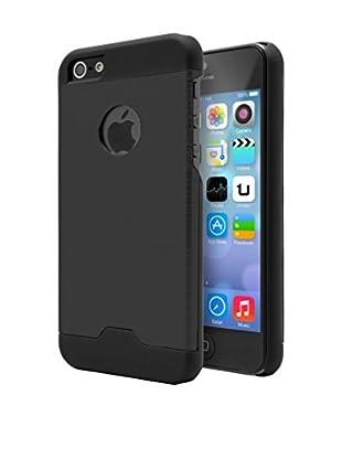 Unotec  Hülle Metall iPhone 5/5S schwarz