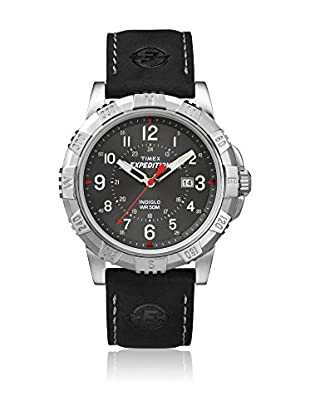 TIMEX Reloj de cuarzo Man Expedition Rugged Field Negro 45 mm