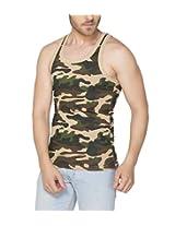 Clifton Men's Army Vest - Saffari - XX-Large