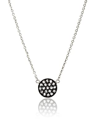 Fraydee Collection Pavé Disc Necklace