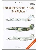 Lockheed F/T F-104G Starfighter (Aviolibri Special Series)