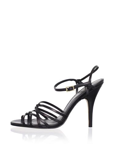 Delman Women's Ellie Sandal (Black)