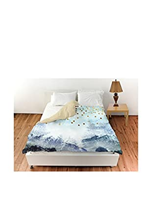 Oliver Gal Summer Mist Collage Duvet Cover