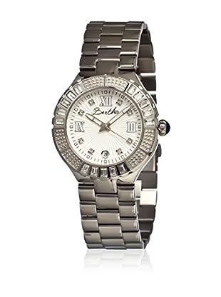 Bertha Uhr mit Japanischem Quarzuhrwerk Evelyn silberfarben 41 mm