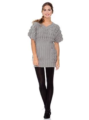LAVAND Vestido Knit Oversized (Gris)