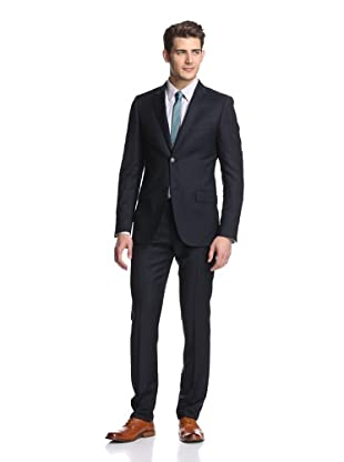 Calvin Klein Collection Men's Hudson 2-Button Suit (Navy)