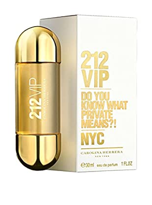 CAROLINA HERRERA Damen Eau de Parfum 212 VIP 30 ml, Preis/100 ml: 93.16 EUR