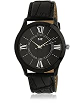 KILLER Black Dial Analogue Watch for Men (KLW209E_New1)