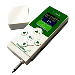 即納国内発送! 食品硝酸塩測定機能+SOEKS-01M ECOTESTER 新品簡易日本語使用説明書付