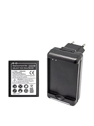 Unotec Kit Bateria Adicional Con Cargador Galaxy S3 Mini, Trend, S-Duos Y Ace2